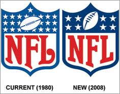 The NFL will switch to a new corporate logo next year, the first change to the brand since 1980.