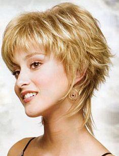 Short Haircut Styles:Short Haircuts For Round Faces And Fine Hair 2014 Medium Hair Styles . Short Shaggy Haircuts, Shaggy Short Hair, Short Shag Hairstyles, Haircuts For Fine Hair, Layered Hairstyles, Short Pixie, Pixie Cuts, Shaggy Pixie, Sassy Haircuts