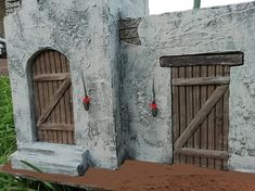 Belen artesanal: Catálogo de construcciones Interior, Painting, Xmas, Christmas Decor, Christmas Villages, Projects, Design Interiors, Painting Art, Paintings