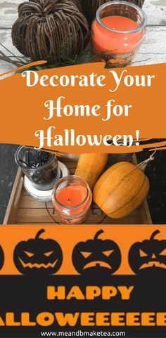 Decorate Your Home for Halloween! 5 Ways to get the House ready for Halloween!I love Halloween and autumn. I always have done. My birthday is in October and it's always been a month that I've loved. So to get us in the autumn mood, I'm sharing with you some of my tips and tricks for spooking up your home this Halloween.