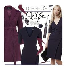 """""""TOPSHOP Dresses Guide - Work Wear"""" by beebeely-look ❤ liked on Polyvore featuring Rare London, Topshop, Faber-Castell, WorkWear, dress, preppy, dresses and topshop"""