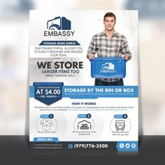 Create a fresh and modern flyer for an out of the box concept for college students. by websmartusa