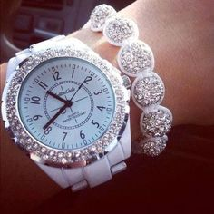 Watch and bracelet