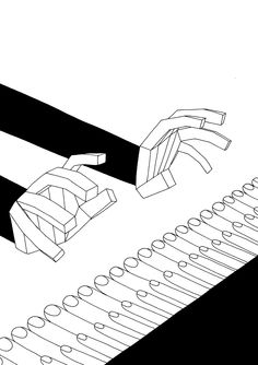 Drawings / Artists / Hands / Print / Illustration / Petra Mrzyk / Jean-Francois Moriceau