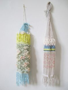the beautiful work of hermine van dijck Motifs Textiles, Weaving Textiles, Textile Patterns, Art Textile, Textile Design, Textile Texture, Arts And Crafts, Diy Crafts, Passementerie
