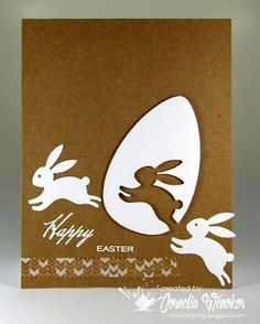 cards handmade 35 DIY Easter Cards that highlights your sentiments in a warm & creative tone - Hike n Dip Diy Easter Cards, Diy Easter Decorations, Easter Gift, Diy Cards, Easter Crafts, Easter Bunny, Easter Eggs, Handmade Easter Cards, Happy Easter