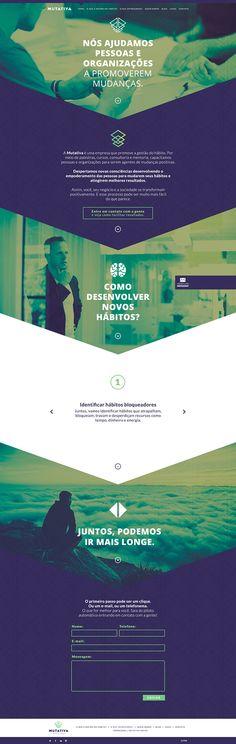 A Mutativa é uma consultoria especializada em ajudar pessoas e empresas a promoverem mudanças. Para criar o site para esta empresa, analisamos estrategicamente quais eram as palavras-chave relacionadas ao negócio e quais poderiam posicionar a marca de acordo com sua missão, visão e valores. O resultado foi um site responsivo, com design moderno, fiel ao manual da marca e com conteúdo inspirador, que motiva a contratação dos serviços.