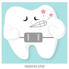 Aparelho ortodôntico: o que fazer depois de apertar Dental Life, Dental Art, Dr Eduardo, New Job, Clinic, Teeth, Smile, Wallpaper, Children