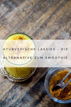 Ayurvedic Lassis - the Ayurveda alternative to the smoothie (+ 4 recipes) - Of course, smoothies, especially those with frozen fruits, are the perfect, healthy summer drink. Detox Recipes, Smoothie Recipes, Superfood, Ayurveda Lifestyle, Yoga Lifestyle, Ayurveda Vata, Cocktails, Cafe Food, Alternative