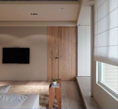 Asian Apartment by WCH Interior - Wooden door.