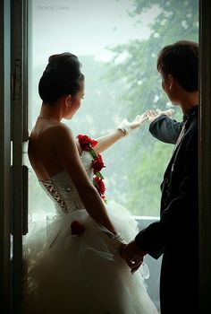 it's good luck if it rains on your wedding day