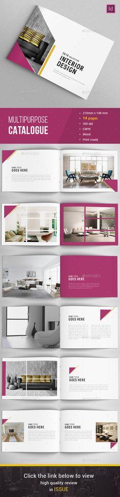 Landscape Company Portfolio Brochure A4 And Letter Landscaping - company portfolio template