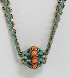 Superduo necklace Superduo jewelry Convertable by LS4Swarovski