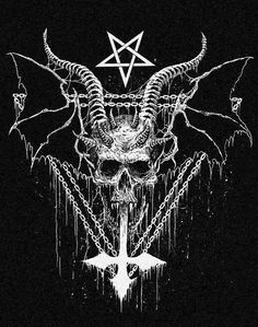 #satanic #satan #darkart #horror #occultart #occult #invertedcross