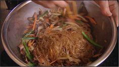 Japchae recipe : Food Safari : Korean dish