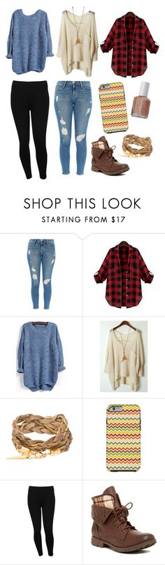 """November must-haves"" by elizabethnutt ❤ liked on Polyvore featuring Frame Denim, Essie, M&Co, Rock & Candy, women's clothing, women, female, woman, misses and juniors"