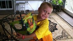 Boy battling brain tumor gets his birthday wish: Thousands of cards!