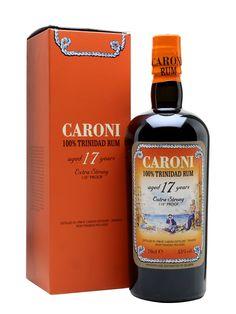 Caroni 1998 Rum / 17 Year Old / Extra Strong Tolle Geschenkideen mit Rum gibt es bei http://www.dona-glassy.de/Geschenke-mit-Rum:::22.html