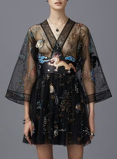 1245d1b93e2 Love the fit and flow. I also love dresses with sleeves! -  dresses ·  Winter Fashion For Teen GirlsCute ...