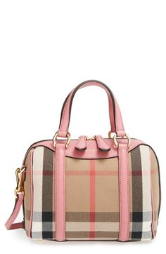 Burberry 'Small Alchester' Leather Satchel available at #Nordstrom