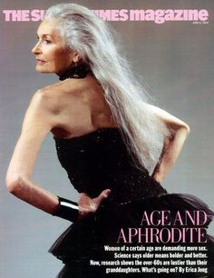 Daphne Selfe: Topmodel aos 83 anos