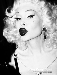 Amanda Lepore. One of NYC 's greatest downtown entertainers and public face of Transgender in America. You Inspire me Amanda.
