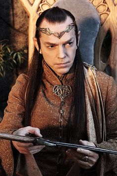 Elrond. The Hobbit. Newsflash--he's just the coolest elf. (SOMEBODY ELSE FINALLY GETS IT! THANK YOU, PREVIOUS PINNER!!! :D )