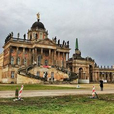 Potsdam, Germany — great winter day trip from Berlin (Read the post for more photos & travel tips)