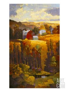 America Suite II Stretched Canvas Print by Max Hayslette at Art.com