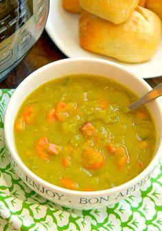 instant pot split pea soup recipe 2
