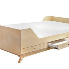 Our Quinn Bed talks to you of sleek Scandinavian design at its best. With its slightly raised sides it will add security for a restless toddler. Three drawers will successfully accommodate bedroom gadgets, such as bedding, and pajamas, and even … Readmore Bedroom Gadgets, Beds For Sale, Scandinavian Design, Toddler Bed, Drawers, Pillows, Storage, Children, Furniture