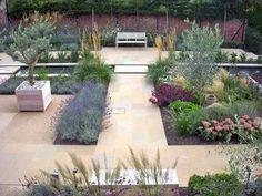 Contemporary Courtyard | Sue Townsend Garden Design