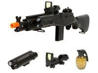 M14 Spring Airsoft Sniper Rifle Kit - 0.240 Caliber Visit for more deals: ZhunCityDeals.com