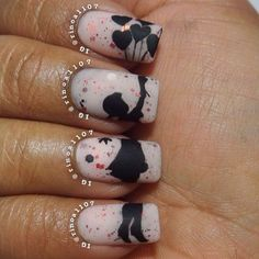 präsentiert von www.my-hair-and-me. Great Nails, Fabulous Nails, Gorgeous Nails, Shoe Nails, Diy Nails, Manicure, Sassy Nails, Funky Nails, Nails For Kids
