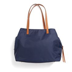 The bag that does double-duty. A large tote is the work-to-weekend essential, plus its heavy canvas fabric is easy to clean (in case of car trip food emergencies). Stitch Fix | Anchorage Nylon Tote