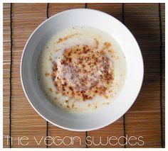 The Vegan Swedes: Semolina Porridge / Mannagrynsgröt