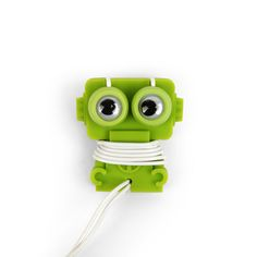 Robo Ear Buds And Wrap Green now featured on Fab.
