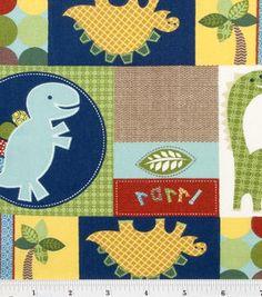 Nursery Fabric- Dinosaur Patch: nursery fabric: fabric: Shop   Joann.com