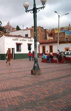Chorro de Quevedo. La Candelaria. Bogotá