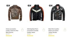 The largest selection of Women's and Men's Leather Motorcycle Jackets on Sale with Free Shipping, Buy the cool Moto Leather Jackets for men now, In Stock, Fast Delivery  http://www.motoleatherjacket.com/
