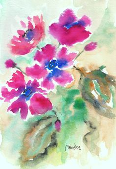 vatercolor by M,Cristina De Amicis