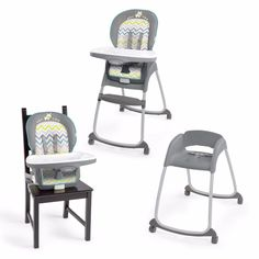Baby Chair High Seat Feeding Toddler Convertible 3In1 Eating Chair High Booster #BabyChairUSA