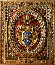Papal Coat Of Arms  St John in Lateran
