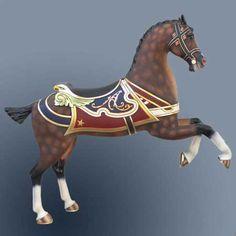 Antique Carousel Horse.