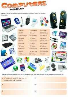 Printables Computer Technology Worksheets technology computer class and words on pinterest worksheet about computers