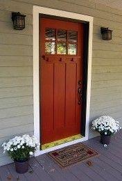 Love a red front door