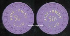 .50c Hide-Away Club 1st Issue 1976
