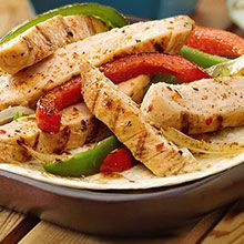 Get your Tex Mex fix with these easy chicken fajitas that will keep them asking for more.