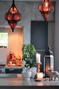 Høst (by Rust) Concrete Kitchen, Rust, Scandinavian, Ceiling Lights, Lighting, Design, Home Decor, Modern, Decoration Home