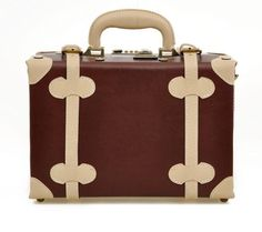 Retro British Luggage Purse.
